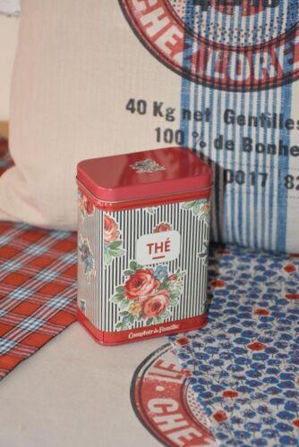 Comptoir de Famille Mehl Kaffee Blechdosen Rosalie Tee Zucker