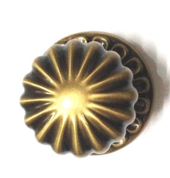 Pomo fisso per porte o portoncini - in ottone ottone ottone - OMP PORRO serie 0168 - Ø 70 mm baa24b