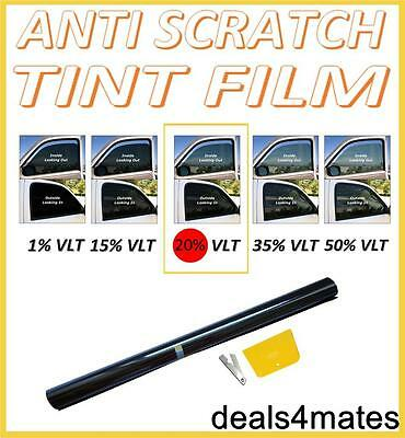 Non-scratch Professional Car Window Tint Film Fumo Scuro Nero 20% 76 Cm X 3 M- Negozio Online