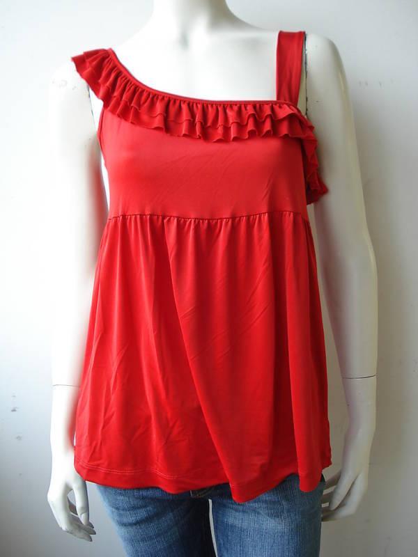 Baby Phat T-Shirt Tank Top Canotta red Neu Firecrakr L
