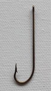 100-x-Bulk-wholesale-lot-Long-shank-fishing-hooks-bronzed-size-2-0