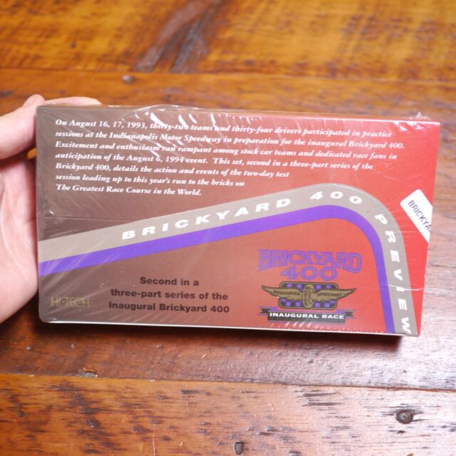 1994 Hi-Tech Indianapolis Speedway Brickyard 400 Preview Inaugural Race CARDS