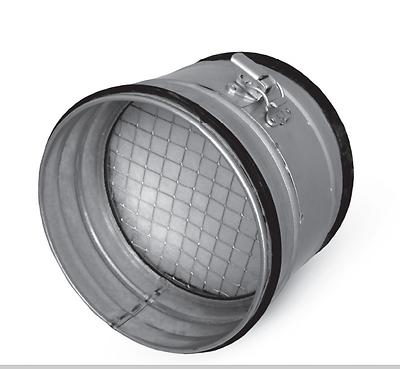 Luftfilter Wickelfalzrohr , Rohr Einbaufilter Lüftung Filter Abluft Zuluft