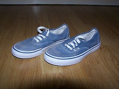 1 Sneakers High Tops LEVI/'S Kids Boys Girls Blue Canvas Trainers 2.5 2