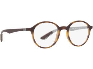 Ray Ban Mens Round RX 8904F Carbon Fiber Eyeglasses Asian Fit 52mm ... 87a99a5ed2c6