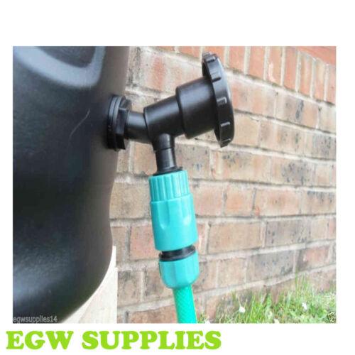 """Réservoir d/'eau en plastique robinet 3//4 /""""de stockage de l/'eau l/'eau jardin gravty idéal minuterie"""