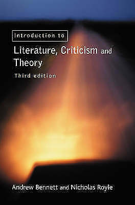 An Introduction to Literature, Criticism and Theory-ExLibrary