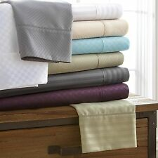 Egyptian Comfort Hotel Quality 4-Piece Bed Sheet Sets - 4 Luxury Patterns