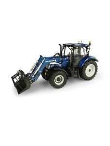 Modèle de tracteur New Holland T7.315 avec chargeur 1:32 Britains