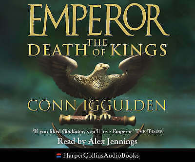 The Death of Kings (Emperor Series, Book 2) by Iggulden, Conn, Good Used Book (A