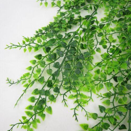 Artificial Flower Pine Needles Fake Vine Plants Leaves Hanging Decor #ev