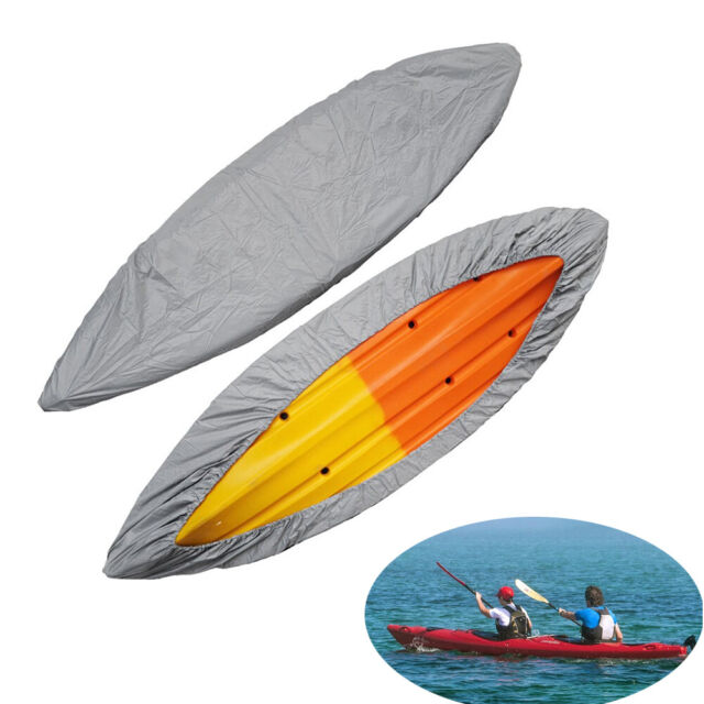 Durable Kayak Cover Canoe Boat Waterproof UV Resistant Dust Storage Cover Shield