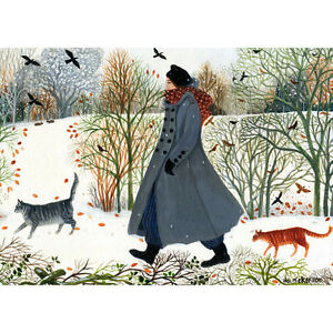 Another-Walk-In-The-Snow-Fine-art-greeting-Card-Birthday-Wedding-Baby-Gift