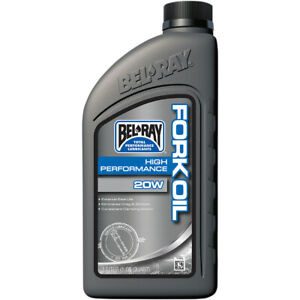 Olio-forcella-BEL-RAY-HIGH-PERFORMANCE-20W-moto-Harley-Triumph-BMW-Honda-Kawasak