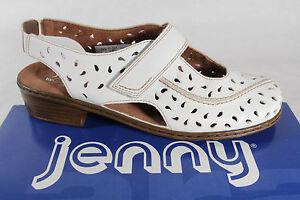 jenny by ara sandale leder weiss weite h klettverschlu lederfu bett neu ebay. Black Bedroom Furniture Sets. Home Design Ideas