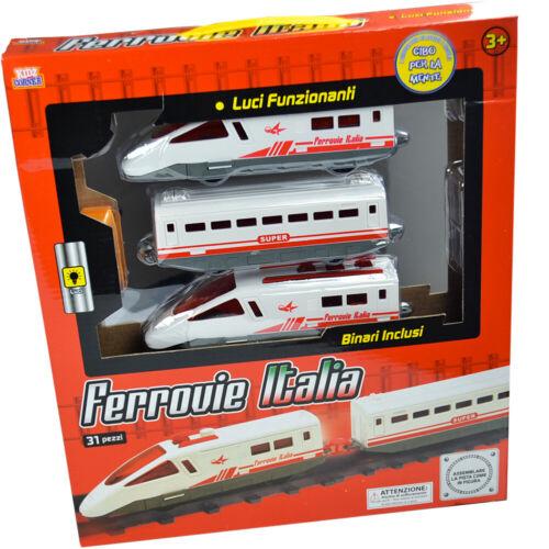 Trenino Express Pendolino Ferrovie Italiane Completo Di Pista Kidz Corner