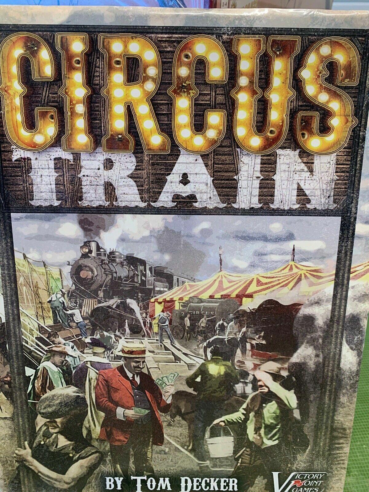 Circus Train Board Game - NEW SEALED