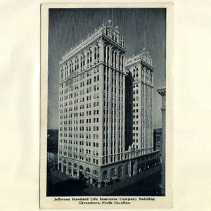Jefferson-Standard-Life-Insurance-Company-Bldg-Greensboro-NC-1949-Postcard