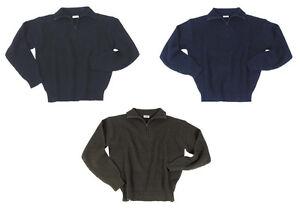 BW-Islaender-Pullover-Troyer-schwarz-oliv-blau-S-XXXL