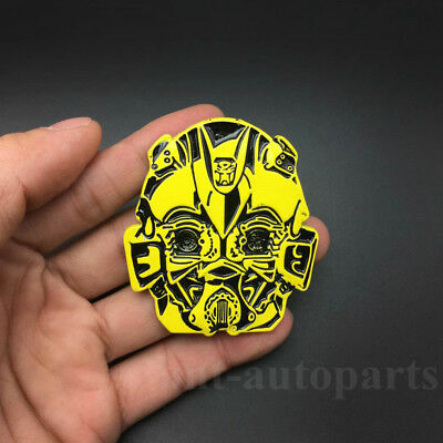 Metal Transformers Autobots Deceptions Car Auto Emblem Badge Decals Sticker
