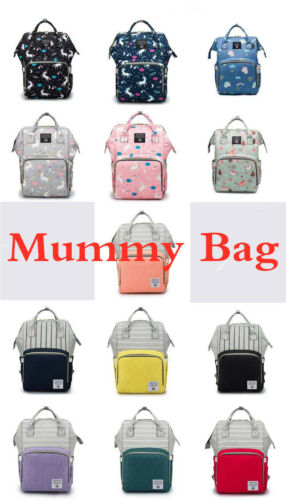 Mummy Portable Maternity Nappy Diaper Bag Large Capacity Travel Backpack