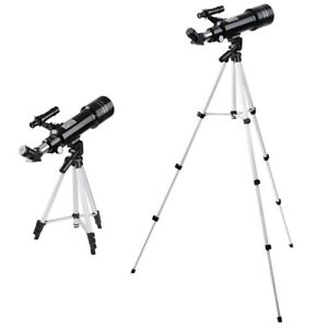 400x70mm-Refractor-Astronomical-Telescope-Eyepieces-Tripod-For-Travel-Wild
