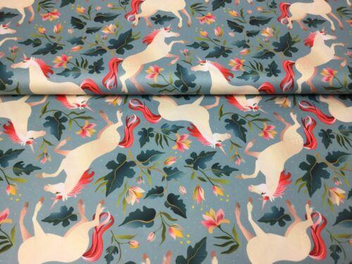 Micro Polyester rauchmini Licorne Vestes Tissu unidorn toile tissu