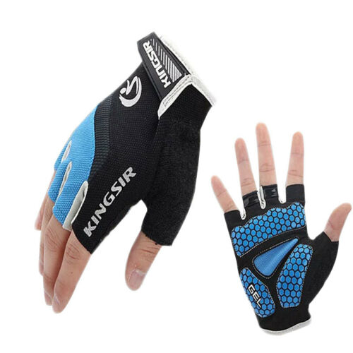 Sport Bike Bicycle Cycling Riding Fitness Silicone Palm Gloves Mittens