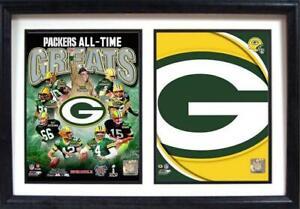 Green-Bay-Packers-Holz-Doppel-Wandbild-50-cm-Plaque-NFL-Football-Neu
