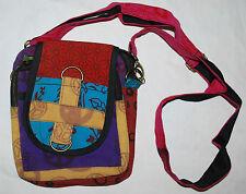 Nuevo de comercio justo Algodón Bolso de Hombro-Hippy Bolso Hippie Festival bumbag CND