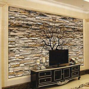 Home Wall 3d Wallpapers Bricks Design Living Rooms Murals Modern Decor Wallpaper Ebay
