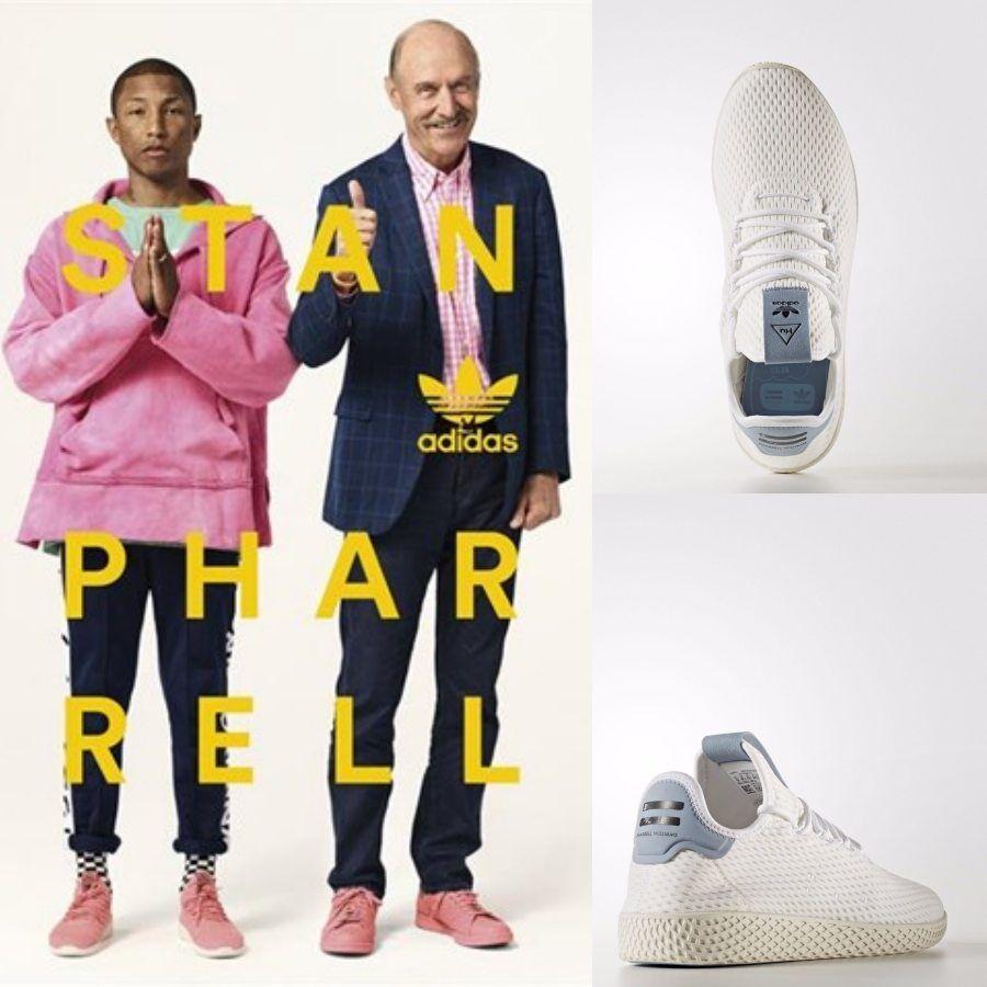 Adidas x Pharrell Williams PW Tennis HU Unisex Unisex HU Running White BY8718 Size 4-11 2d6d7d
