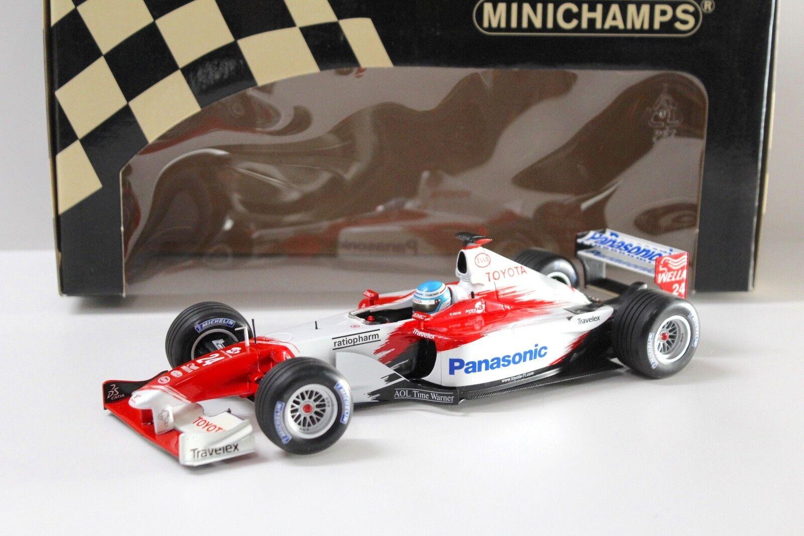 1 18 18 18 Minichamps panasonic toyota racing tf102 m. salo New en Premium-modelcars 5ec3ab