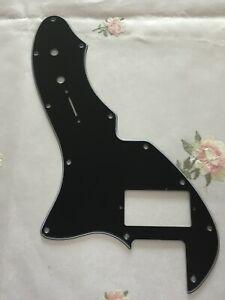 For-3-Ply-Fender-US-Telecaster-Thinline-Tele-69-PAF-Guitar-Pickguard-Black