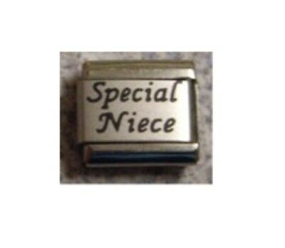 9mm Classic Size Italian Charm L56  Special Niece