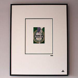 Martin Allen ¿ puede el arte-Heineken Zip en grandes Alluminium Marco
