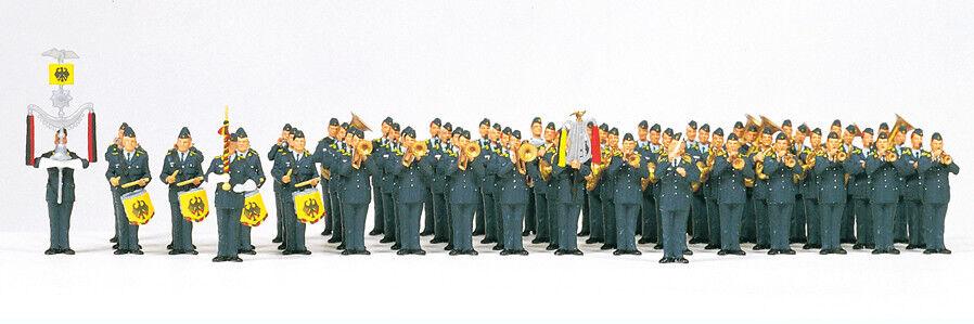 Preiser 13256 musikkorps federal arma de aire h0 nuevo en el embalaje original
