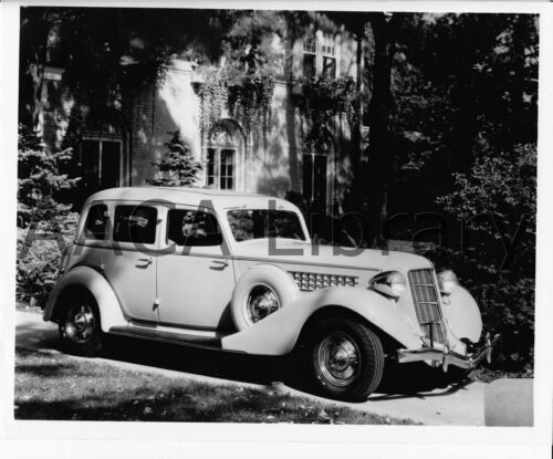 Ref. # 23182 antique car 1935 Auburn 851 Sedan Factory Photograph