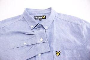 Lyle & Scott Hommes Standard Décontracté Chemise Habillée Taille L BAZ784