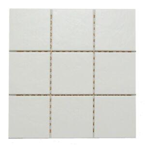 Ersatzfliese Mosaik Jasba E1124 5910h Terrano Weiss Matt 10 X 10 31