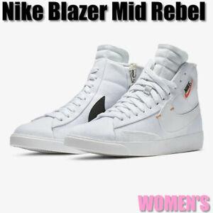 womens blazer mid rebel off white