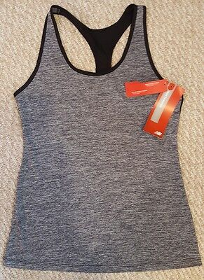New Balance Womens NB Dry Athletic Heather Racerback Tank size S NWT