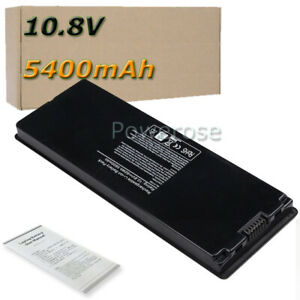 6-Cell-5400mAh-Battery-for-Apple-MacBook-13-034-A1185-A1181-MA561G-A-Black-UK