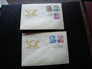 Germany-Rda-2-Envelopes-1973-cy57-Germany