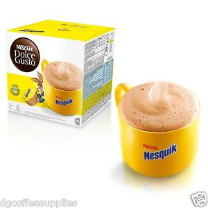 dolce gusto nesquik coffee pods 16 order 16 servings cheap. Black Bedroom Furniture Sets. Home Design Ideas