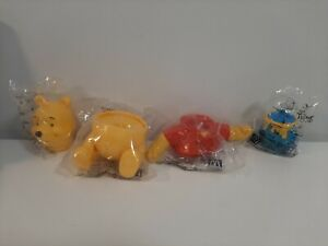 2000-McDonald-039-s-Happy-Meal-Toys-Complete-Lot-of-4-Build-a-Pooh