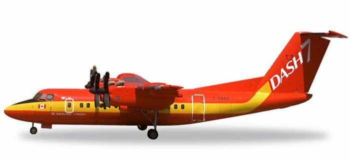HE557795 Herpa Wings De Havilland DHC-7 1 200 Model Airplane