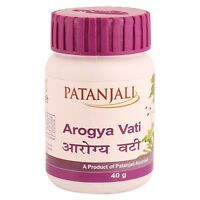 Patanjali Divya Arogya Vati Herbal Ayurvedic Tablet Ramdev 40g 80 Tablets
