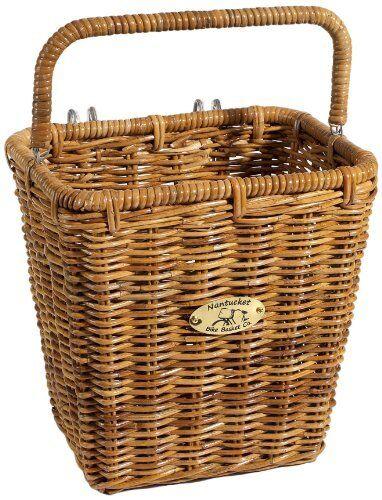 Nantucket Cisco Pannier Basket Rectangular Honey