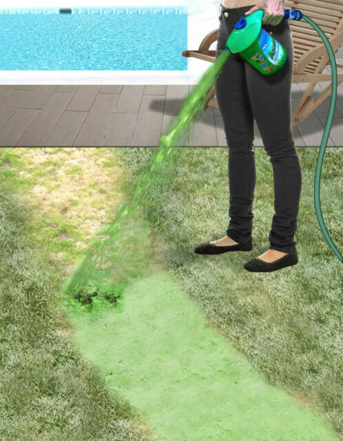 Reviews Aquagrazz Hydro Grass Seeding System Seeds Stainless Steel Blades Ebay